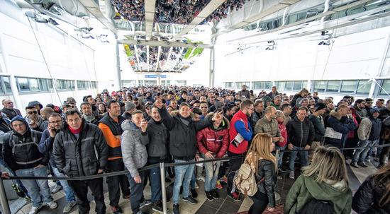Il pubblico, numeroso ed entusiasta, è il vero protagonista dei Motodays