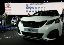 Nuova Peugeot 3008 è Car of the Year 2017, seconda la Giulia [Video]