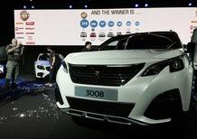 Nuova Peugeot 3008 è Car of the Year 2017, seconda la Giulia [Video]