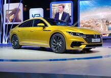 Volkswagen Arteon, l'ammiraglia debutta al Salone di Ginevra 2017 [Video]