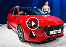 Hyundai i30 Wagon, la videorecensione al Salone di Ginevra 2017 [Video]