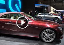 Mercedes Classe E Cabrio, la videorecensione al Salone di Ginevra 2017 [Video]