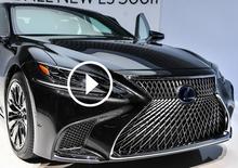 Lexus LS 500h 2017, la videorecensione al Salone di Ginevra 2017 [Video]