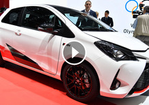 Toyota Yaris restyling e Yaris GRMN, la videorecensione al Salone di Ginevra 2017 [Video]