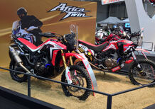 Motodays 2017: Honda Africa Twin Rally, prezzi e foto (Video)