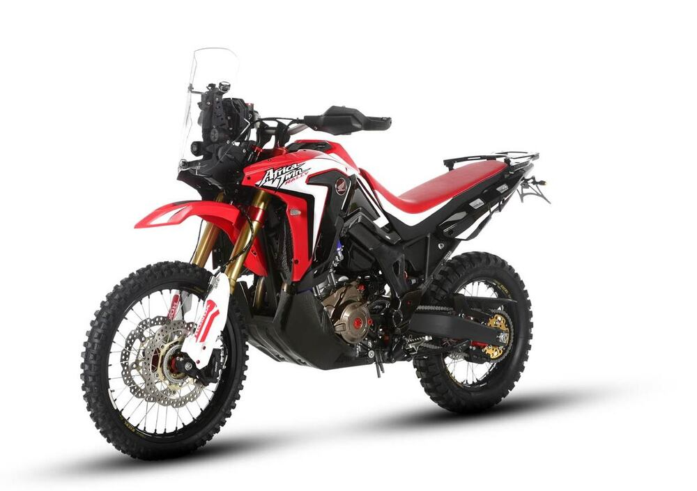 honda africa twin rally 2018 prezzo e scheda tecnica. Black Bedroom Furniture Sets. Home Design Ideas