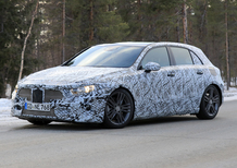 Mercedes A-class: new spy shots