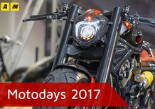 Motodays 2017. Tre novità moto da scegliere ascoltando il cuore (Video)