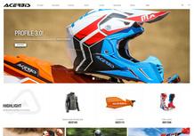 È on-line il nuovo sito di Acerbis