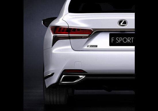 Lexus LS 500 F Sport, il primo teaser