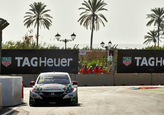 WTCC 2017, qualifiche Marocco: pole per Monteiro