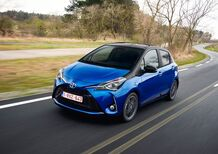 Toyota Yaris Hybrid restyling 2017 [Video primo test]