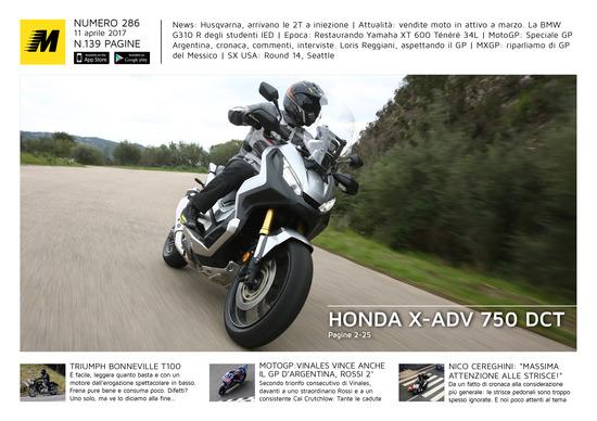 Magazine n°286, scarica e leggi il meglio di Moto.it