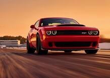 Dodge Challenger SRT Demon: anche le auto possono impennare [Video]