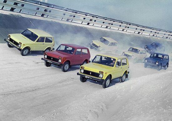 Lada Niva 4x4, i suoi primi 40 anni