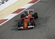 F1, GP Bahrain 2017: Vettel leader, Hamilton insegue
