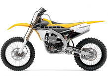 Yamaha YZ250F e 450 60th Anniversary Edition in gara