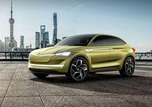 Skoda Vision E Concept, il futuro è SUV