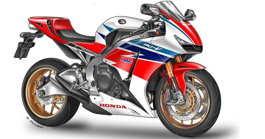 Nuova Honda V4 per la Superbike, dopo la Fireblade