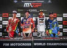 MX 2017. Le interviste dal podio del GP d'Europa