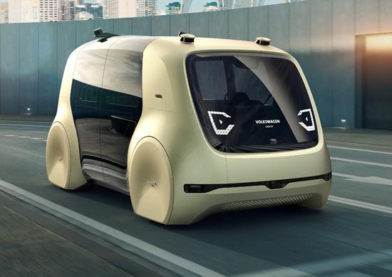 Volkswagen Sedric, così la mobilità urbana fra 30 anni