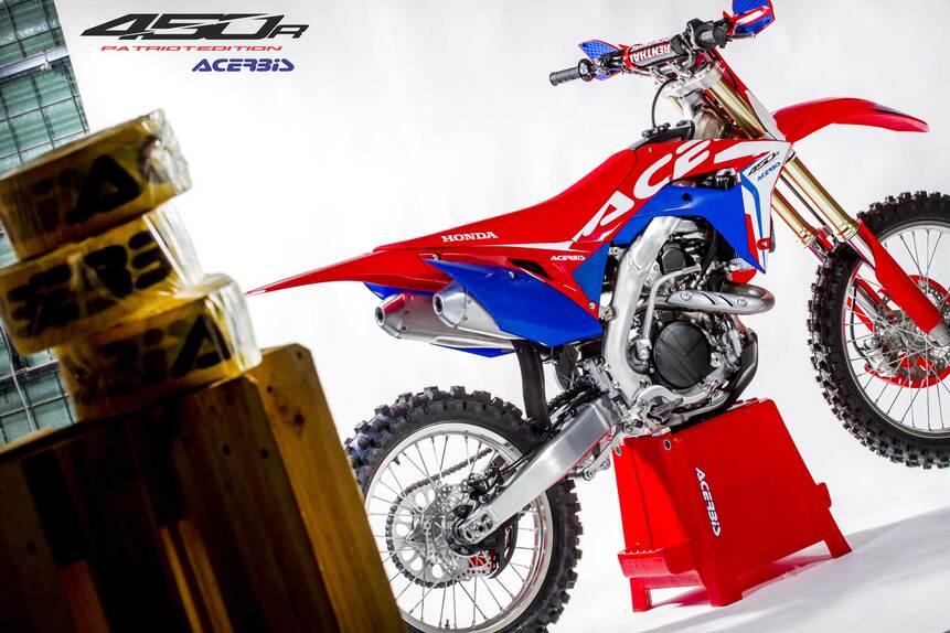 Acerbis: full kit e plastic kit Patriot per Honda CRF450R (4)