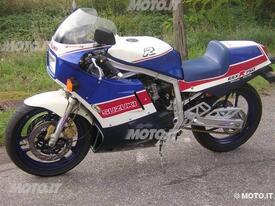 La versione limitata GSX-RR in allestimento per il mercato italiano